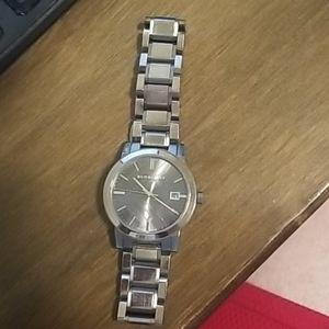 Burberry Men's Gunmetal BU9007 PVD Watch